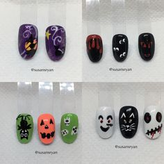Nail art - Halloween designs