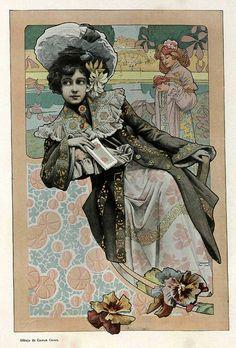 All sizes | 014-Dibujo de Gaspar Camps- Album Salon Enero 1903-Hemeroteca de la Biblioteca Nacional de España, via Flickr.