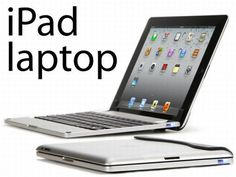 Brydge keyboard transforms your iPad into a laptop.  Next best thing to an MacBook Air!  :)
