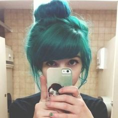 Love the color and bangs