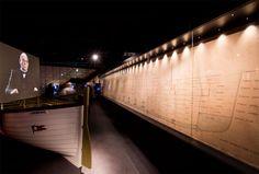Decent sized showcase for the Titanic Plan @ Titanic Belfast