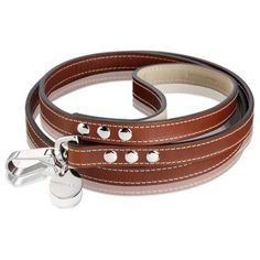 Love this British Saddle Leather Dog Lead  from Hennessey & Sons #dog #lead #pets