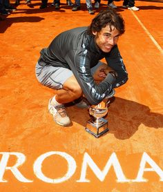 Rafael Nadal The Internazionali BNL d'Italia 2012 Champion!