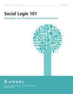 Social login simplifies logins for end users while unlocking reliable engagement metrics such as demographic, geographic, and interest data to media property o… Best Practice, Infographics, Facebook, Infographic, Info Graphics, Visual Schedules