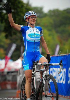 Katerina Nash (Luna Pro Team) winning Shimano NEPCX Providence Cyclo-cross Festival 2013