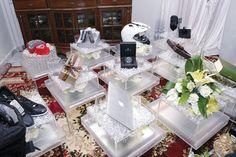 Kahwin Betul-Betul: Idea Please, Hantaran Putih/Silver/Cream