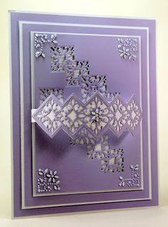 John Next Door: Lilac Monday... Striplet Stacked Diamond
