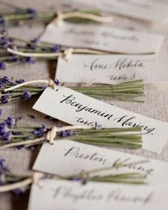 ~ Wedding: Escort-Karte ~