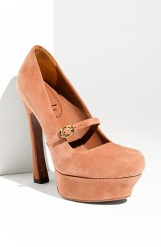 Yves Saint Laurent Palais Platform Mary Janes