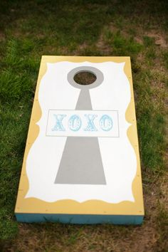 Custom cornhole boards- scott would love this!!