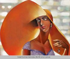 Ira Tsantekidou / SWEET SUMMER MEMORIES / oil on canvas, 80x100cm, 2008.
