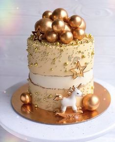 Beautiful Birthday Cakes, Beautiful Cakes, Amazing Cakes, Baby Birthday Cakes, Cake Decorating Techniques, Girl Cakes, Pretty Cakes, Creative Cakes, Themed Cakes