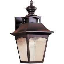 View the Murray Feiss MF OL1001 Craftsman / Mission 1 Light Outdoor Wall Sconce from the Homestead Collection at LightingDirect.com.