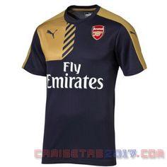 Comprar Camiseta entrenamiento Arsenal 2015 2016 negro 7399e090b6da2