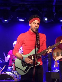 Darren Criss during Computer Games EP release gig on March 8th, 2017