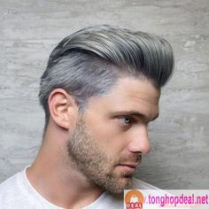 706 me gusta, 8 comentarios - joico color intensity ( Mens Grey Hairstyles, Haircuts For Men, Wig Hairstyles, Ash Grey Hair, Dyed Hair Men, Joico Color, Dyed Hair Pastel, Men Hair Color, Coloured Hair