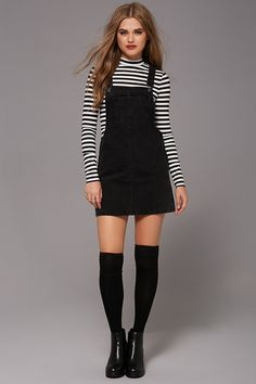 Casual Fall Outfits, Winter Fashion Outfits, Edgy Outfits, Outfits For Teens, New Fashion, Korean Fashion, Cool Outfits, Fashion Dresses, Womens Fashion