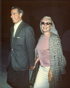 "Marilyn Monroe and Joe DiMaggio. Joe had decided to ask Marilyn to remarry him 4 days before she died.  He had a half-dozen red roses delivered three times a week to her crypt for 20 years.  He never married again. When he died in 1999, his last words were ""I'll finally get to see Marilyn."""