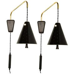 Pair of Lightolier Pulley Wall Lamps | From a unique collection of antique and modern wall lights and sconces at http://www.1stdibs.com/furniture/lighting/sconces-wall-lights/