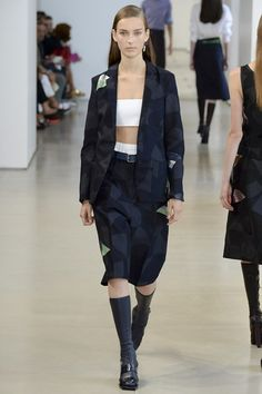 Jil Sander Spring/Summer 2015 ready-to-wear #MFW #Milan #FashionWeek