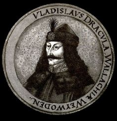 Vlad III Dracula (real name Vlad Tepes) was a prince of a small region of Romania named Wallachia in the century.Vlad Tepes was the grandson of Mircea the Elder, prince of Wallachia during a great time of war between Hungary and the Ottoman Empire. Vlad Der Pfähler, Vlad El Empalador, Wicca, Vampire Legends, Famous Vampires, Order Of The Dragon, Scary Vampire, Vlad The Impaler, Tattoo