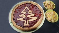 Tarte du Père Noël #Cuisine pour les #enfants #kids & #children #cooking
