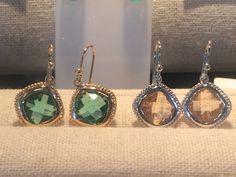 Stunning crystal fashion earrings AUD $30