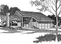 Contemporary House Plan chp-812 at COOLhouseplans.com