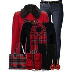 """Keeping Warm"" by mhuffman1282 on Polyvore"