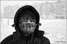 Frost portrait (Street life) by Valery Titievsky, via Flickr
