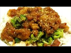 How to make Sesame Chicken - Easy Chinese Food Recipe - YouTube