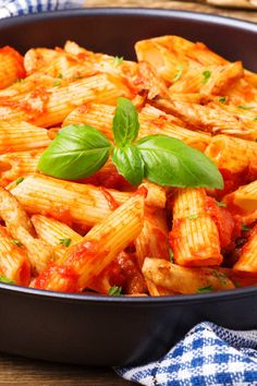 Skinny Italian Chicken and Pasta Skillet