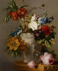 Georgius Jacobus Johannis Van Os, An Arrangement with Flowers