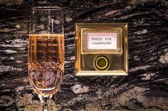 Bob Bob Ricard - Fancy Champagne Bar & Restaurant - Press for Champagne Button £££ treat Champagne Bar, Press For Champagne, Bob Bob Ricard London, Chinoiserie, Best Restaurants London, Fun Restaurants, Bob Richards, Chandeliers, Dating In London