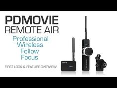 First Truly Affordable Wireless Follow Focus | PDMOVIE REMOTE AIR