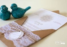 Convite Alecrim Romance para Casamento - chic no ultimo