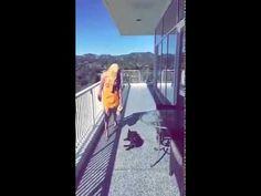 Lady Gaga wearing ONESIXONE Gaia Basalt bag - YouTube