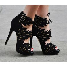 Gorgeous Sassy Heels  #shoes #style #fashion #hautecouture #heels #design #beauty #cutouts