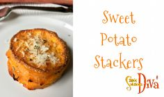 My family LOVES sweet potatoes! I served these and they were a BIG hit, so I believe I will serve them for Thanksgiving this year. Buttery layers of sweet potatoes with rosemary and garlic and fr… Sweet Potato Stackers, Easy Holiday Recipes, Simple Recipes, Thanksgiving This Year, Vegetarian Cheese, Food To Make, Easy Meals, Potatoes, Dishes