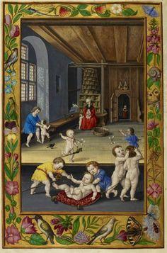 Alchemistic manuscript. LondonBLHarl3469 - 16th century daycare?