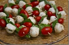 Caprese Skewers by Hungry Hungry Hippie