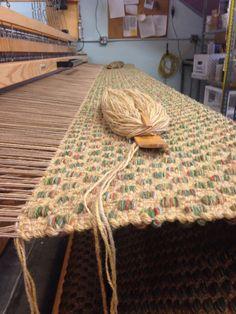 Mosaic pattern. True North Textiles.