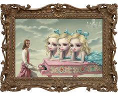 the piano player, 2010—Mark Ryden