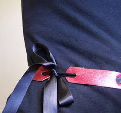 Made by Me. Shared with you.: DIY Faux Leather & Ribbon Belt-Part 3