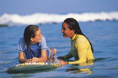 First time surfing? No Problem! Or surf instructors at Alaka'i Nalu are great! http://www.fourseasons.com/hualalai/