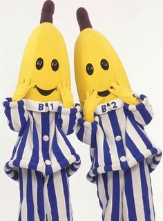 Bananas in Pyjamas and the unforgettable theme music. -- 90's