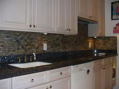 103 Beautiful Blue Pearl Granite Kitchen Ideas For Expensive Look