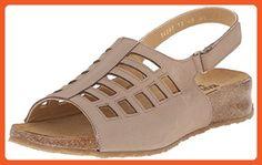 Haflinger Women's TS Morgan Stone Flat Sandal, Beige, 40 EU/9 M US - Sandals for women (*Amazon Partner-Link)