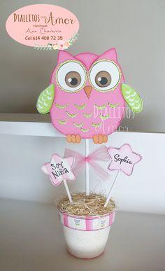 Baby Shawer, Baby Owls, Ciara Birthday, Foam Sheet Crafts, Owl Birthday Parties, Chicken Salads, Avocado Chicken, Shower Centerpieces, Cute Owl