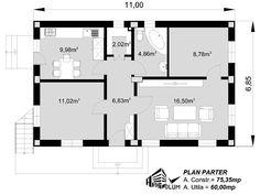 case cu mansarda si scara exterioara Attic houses with exterior stairs 5